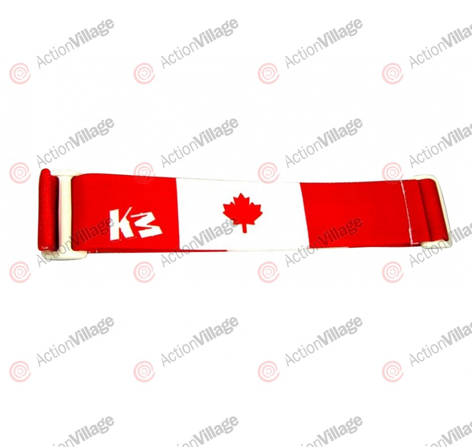 KM Paintball Goggle Strap - Canada Flag