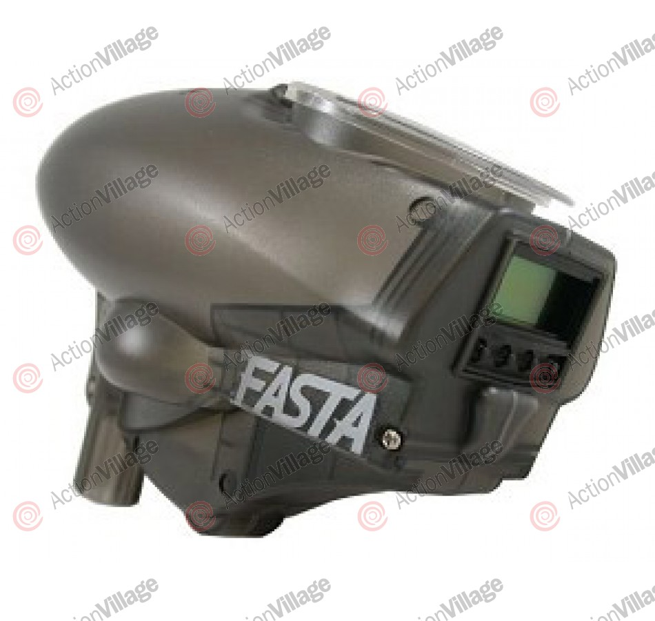 Kingman Fasta LCD 18v Paintball Loader - Smoke