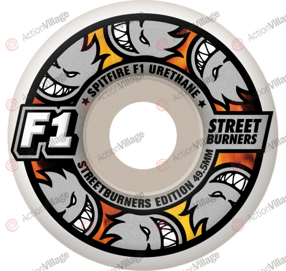 Spitfire Wheels F1 Streetburners Multiball - 52mm - Skateboard Wheels