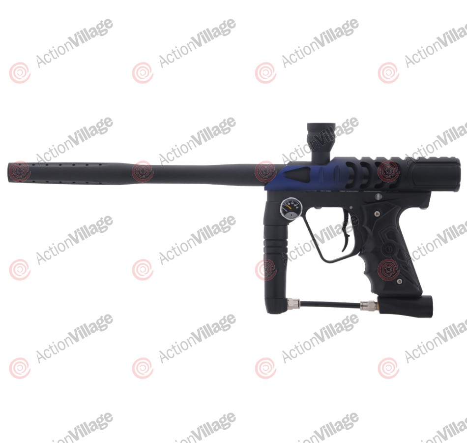 Smart Parts Ion 2.0 Paintball Gun w/ ANS Razor Ion Body - Dust Blue/Black Fade