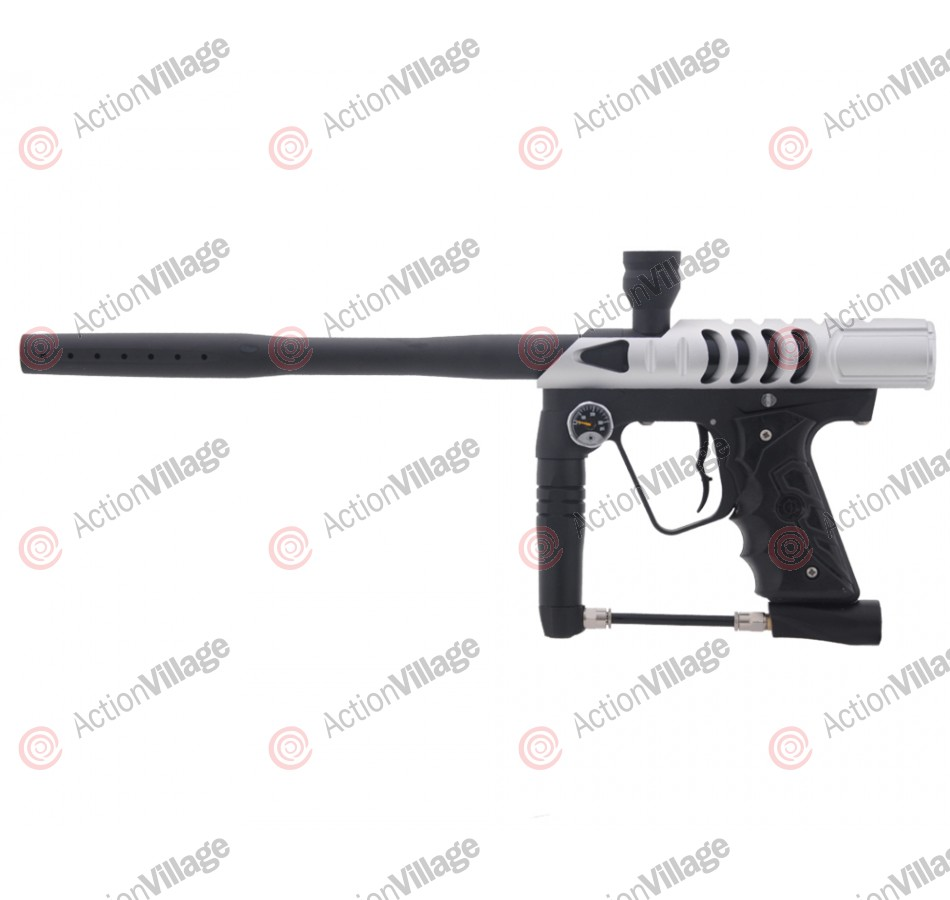 Smart Parts Ion 2.0 Paintball Gun w/ ANS Razor Ion Body - Dust Silver