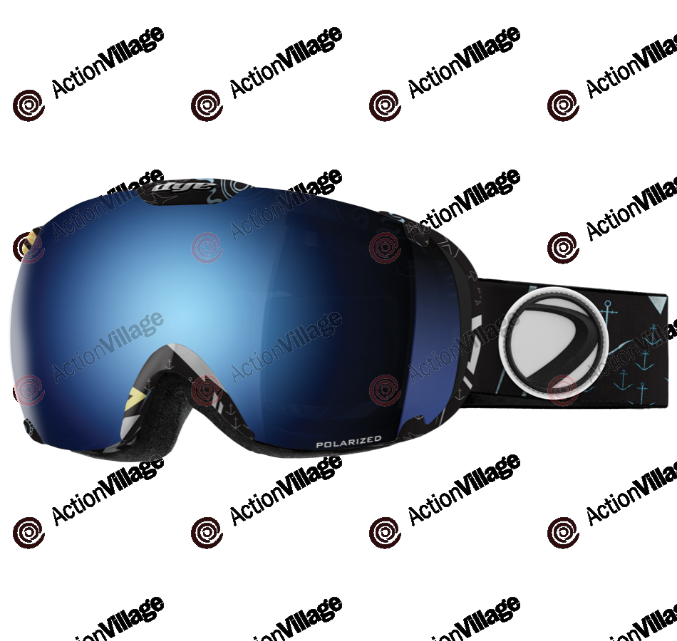 Dye T1 Stack Snowboard Goggles w/ Additional Lens - Blue Ice Polarized