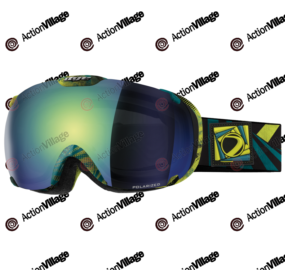 Dye T1 Trinity Snowboard Goggles w/ Additional Lens - Northern Lights Polarized