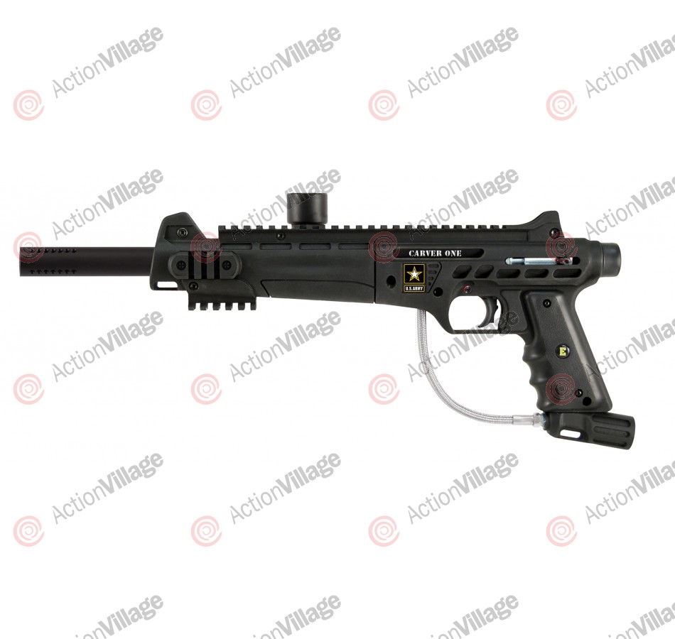 Tippmann Carver One Basic w/ eGrip Paintball Gun - Black