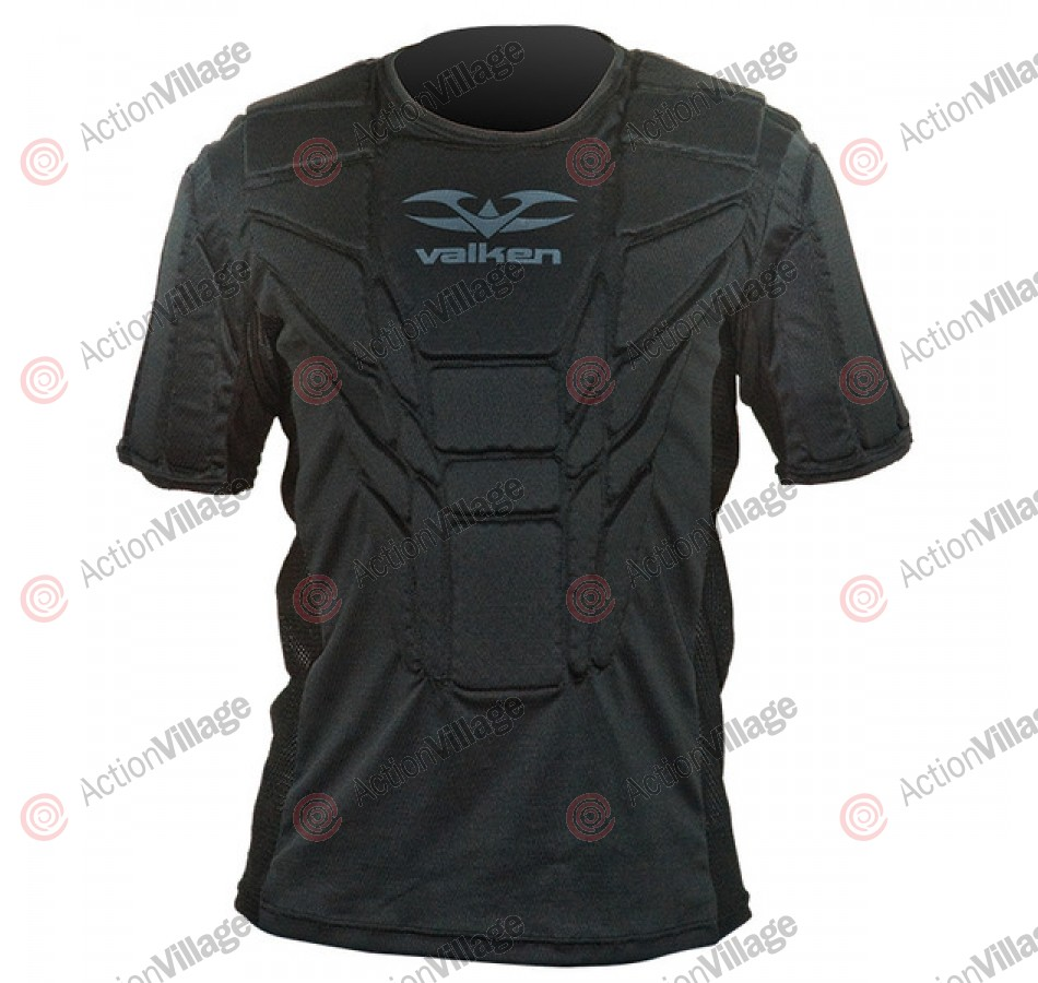 2011 Valken Paintball Impact Chest Protector - Black