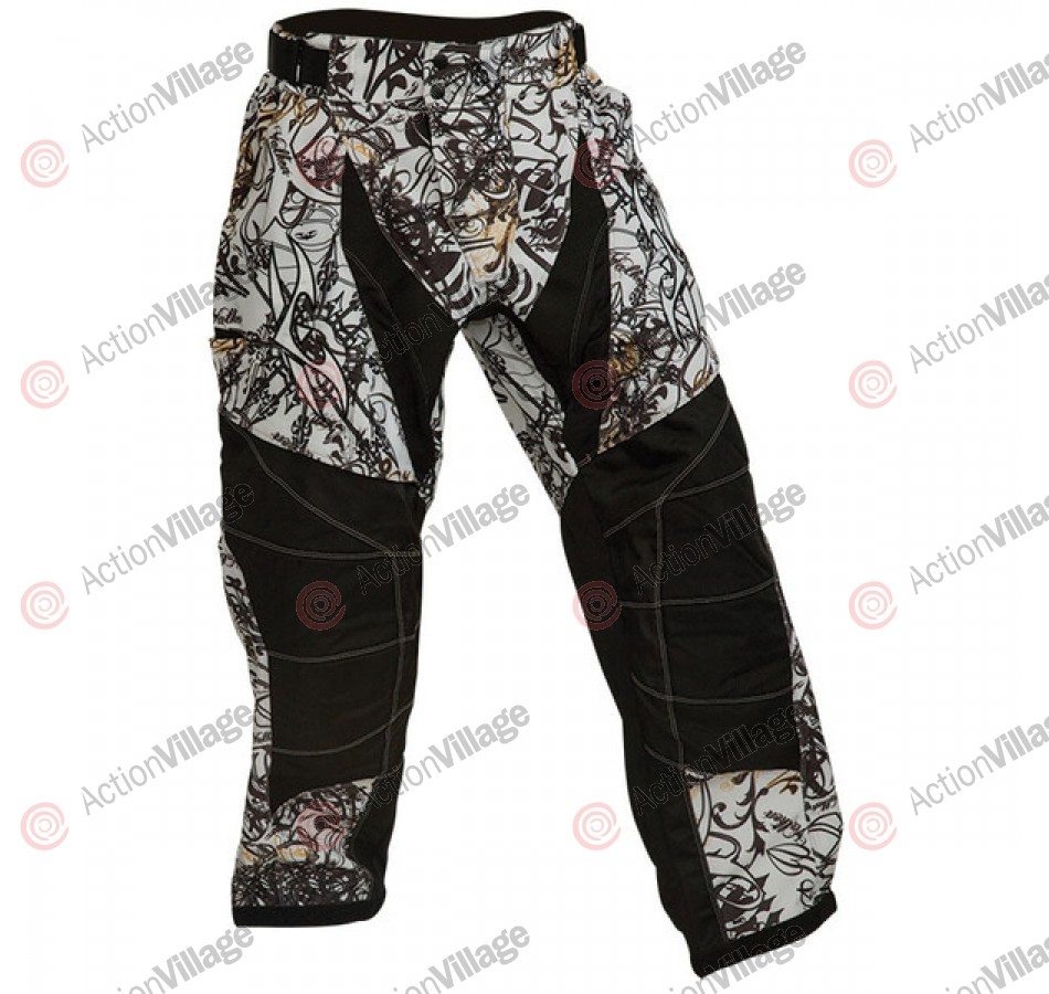 2011 Valken Crusade Paintball Pants - Whiteout
