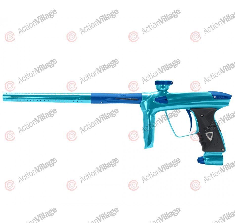 DLX Luxe 2.0 Paintball Gun - Teal/Dust Blue