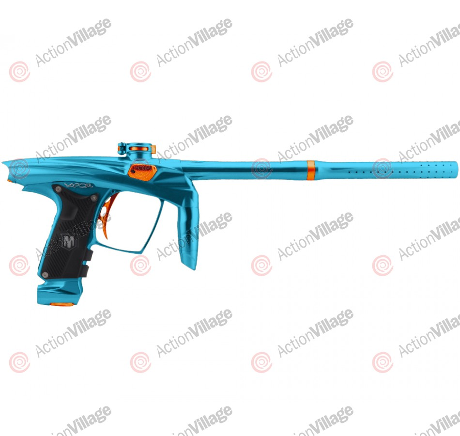 Machine Vapor Paintball Gun - Teal w/ Orange Accents