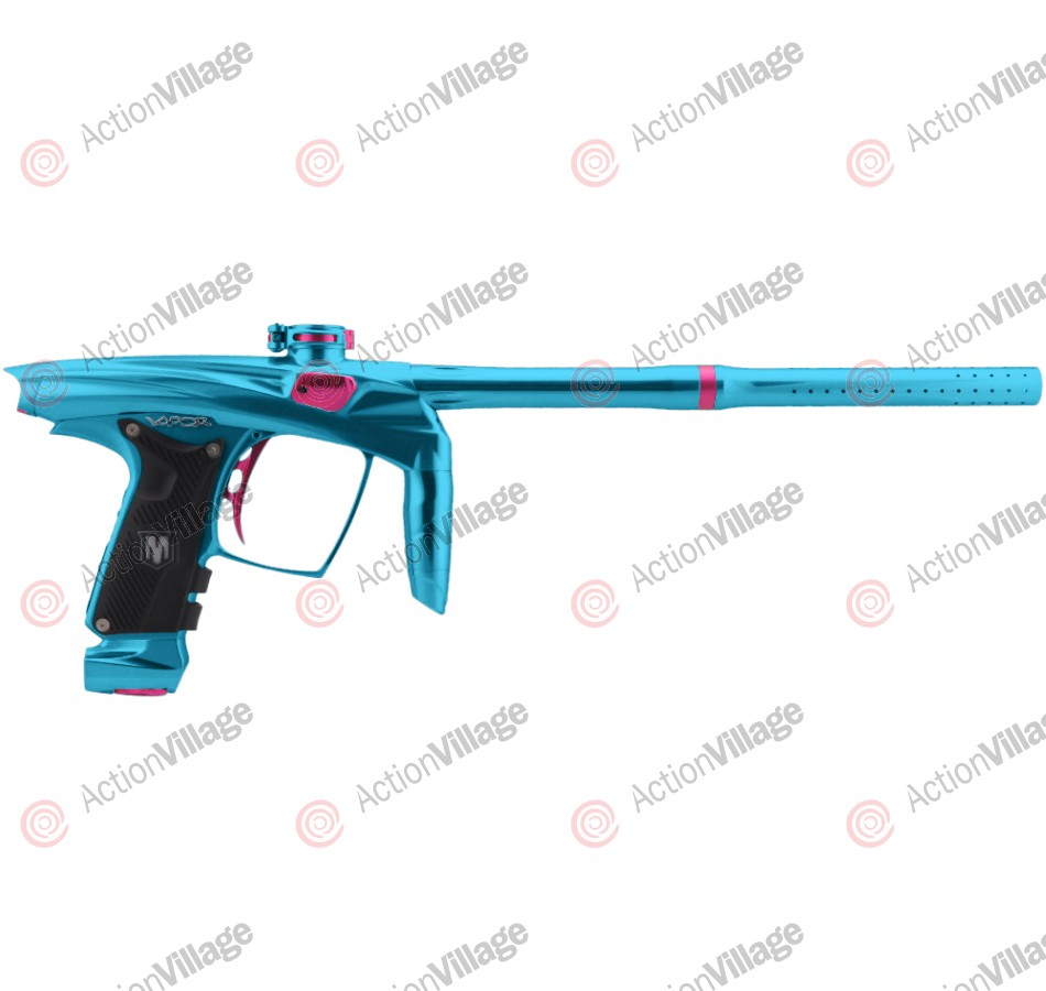 Machine Vapor Paintball Gun - Teal w/ Pink Accents