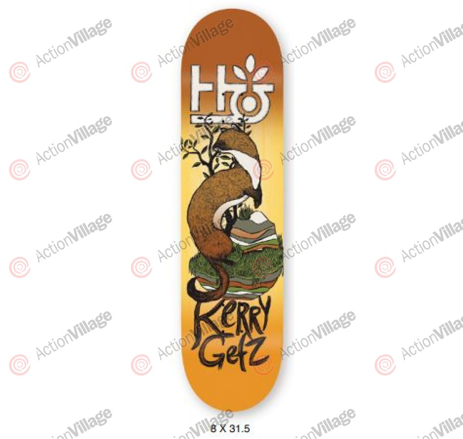 Habitat Terrene KG - Yellow - 8 - Skateboard Deck