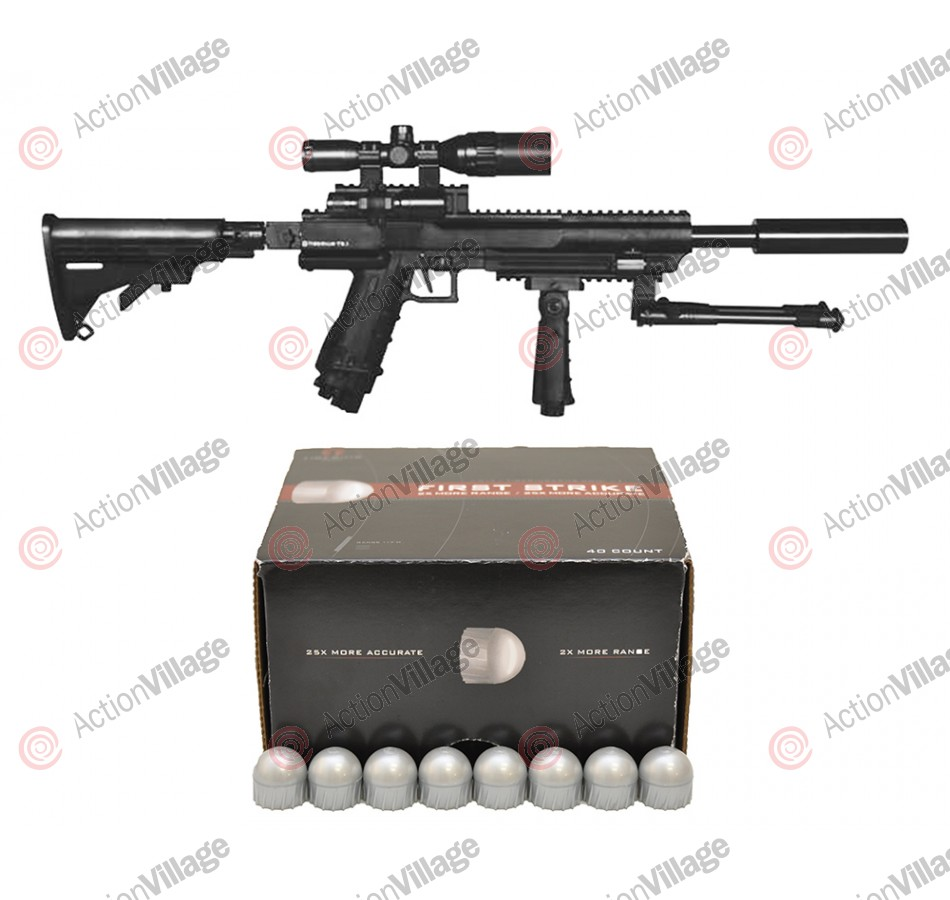 Tiberius Arms T9.1 Elite Rifle w/ 40 Free First Strike Rounds - Black