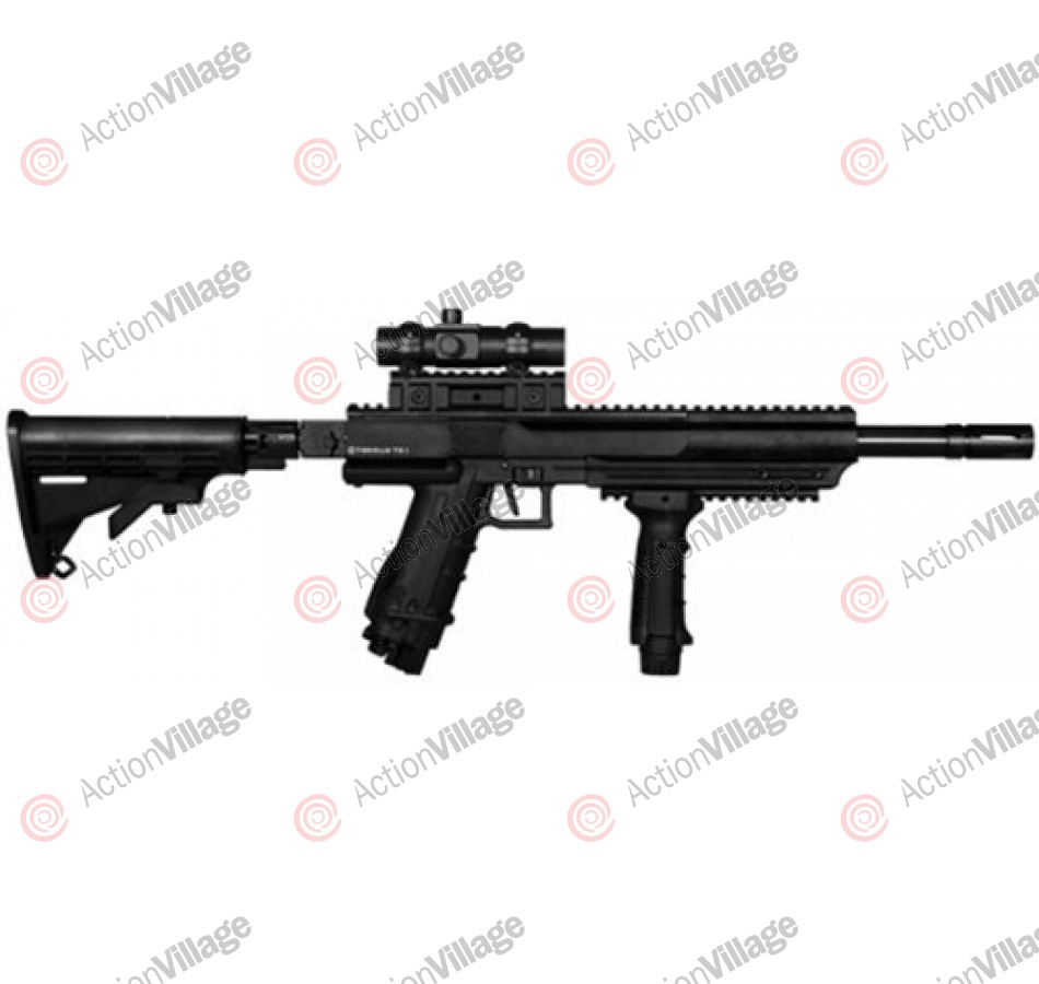 Tiberius Arms T9.1 Ranger Rifle Paintball Gun - Black