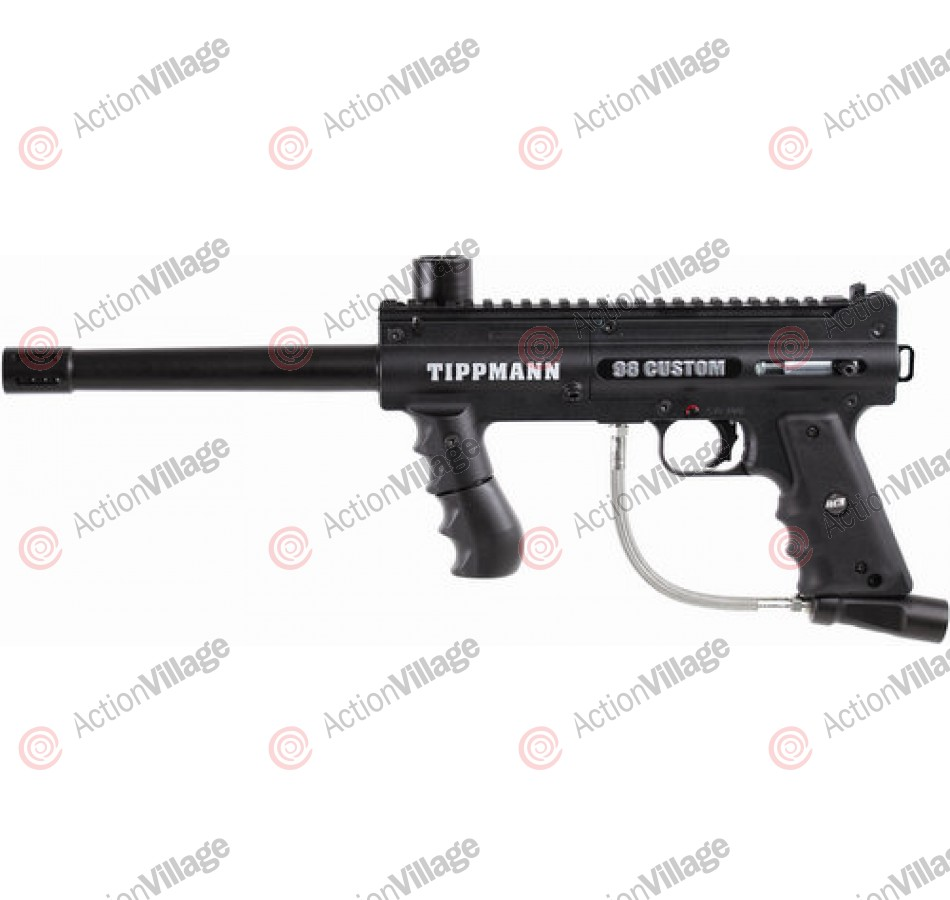 Tippmann 98 Custom Pro ACT Platinum Series Paintball Gun - Black