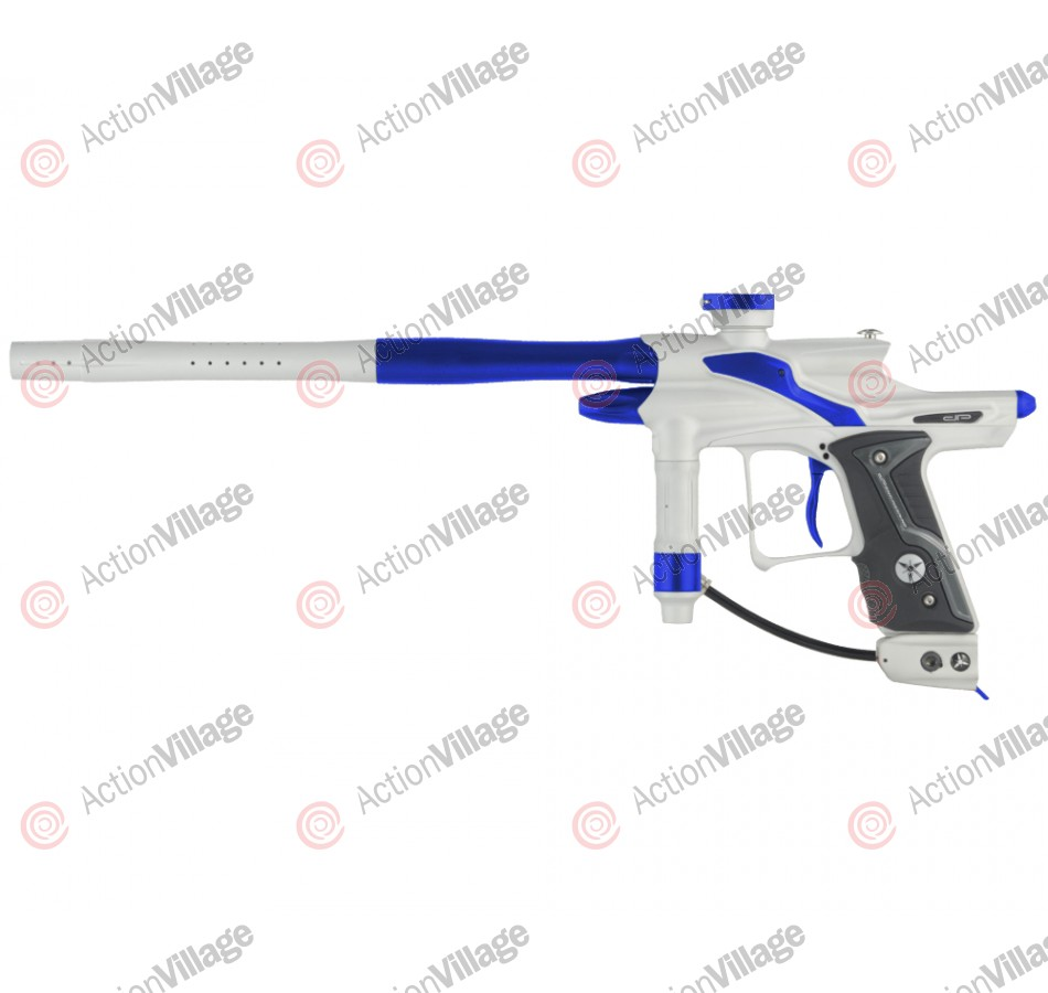 Dangerous Power Fusion FX Paintball Gun - White/Blue