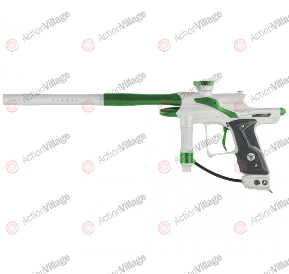 Dangerous Power Fusion FX Paintball Gun - White/Green