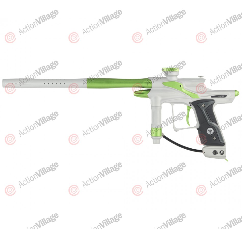 Dangerous Power Fusion FX Paintball Gun - White/Neon Green