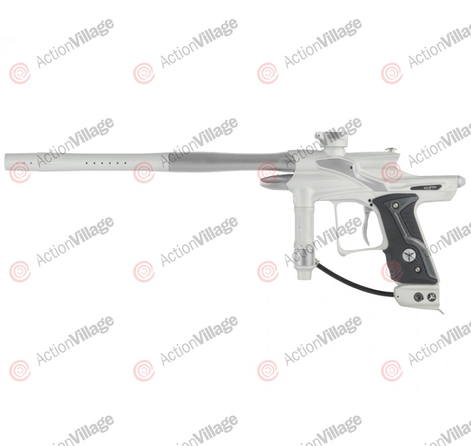 Dangerous Power Fusion FX Paintball Gun - White/Silver