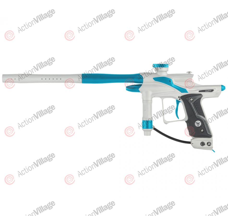 Dangerous Power Fusion FX Paintball Gun - White/Teal