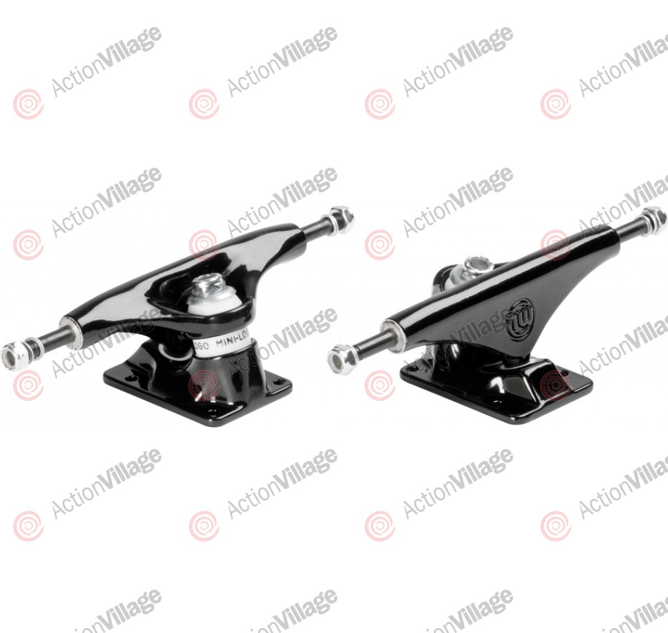 Mini Logo Trucks Black - 8 - Skateboard Trucks
