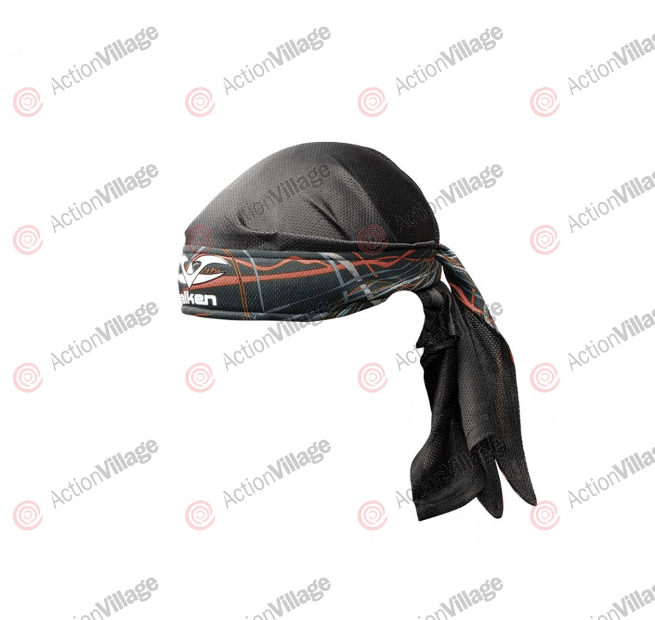 2012 Valken Crusade Paintball Headwrap - Static Red