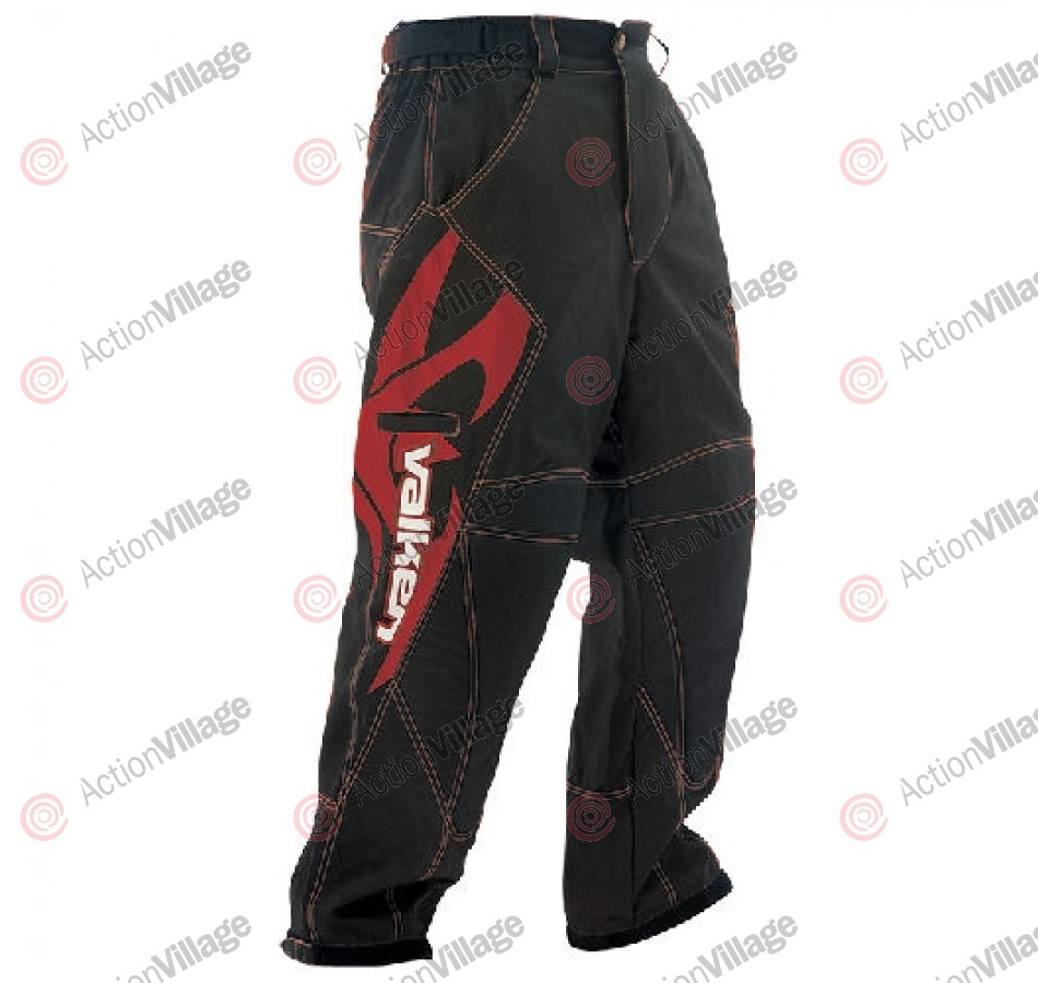 2012 Valken Fate Paintball Pants - Red