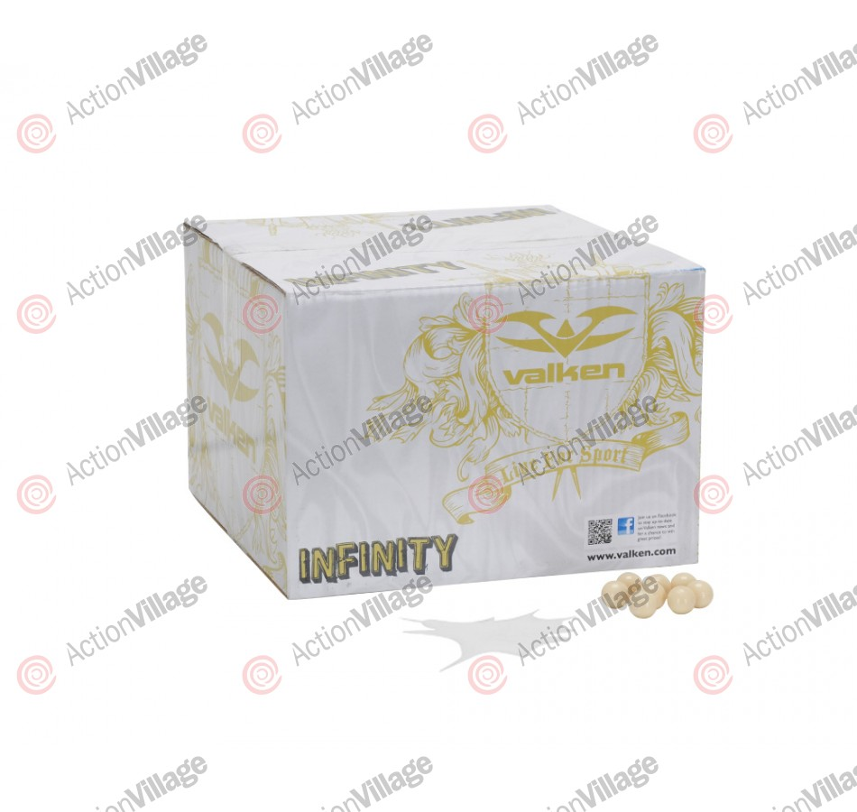 Valken Infinity Paintball Case 500 Rounds - White Fill