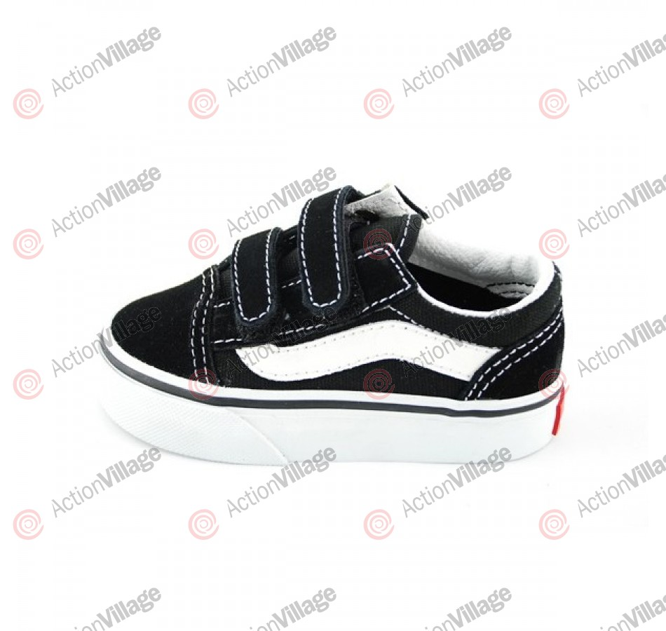 Vans Old Skool V - Kids' Shoes - Black -Size 3.5