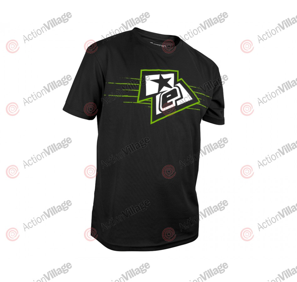 Planet Eclipse Men's 2013 Elogo T-Shirt - Black/Green