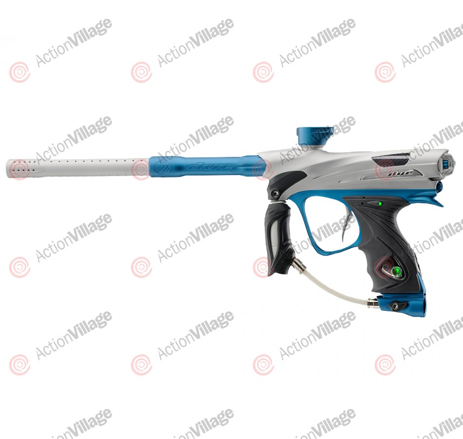 DYE DM12 Paintball Gun - Limited Edition White/Teal
