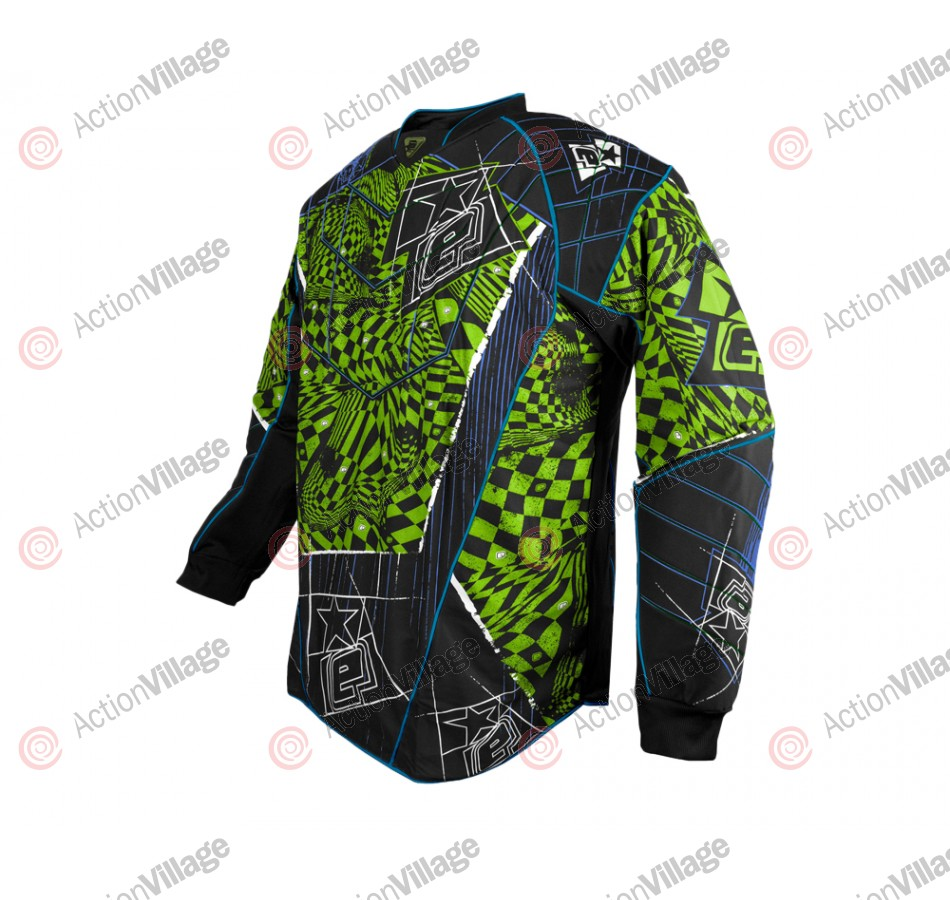 Planet Eclipse Distortion Elusion Paintball Jersey - Lizzard