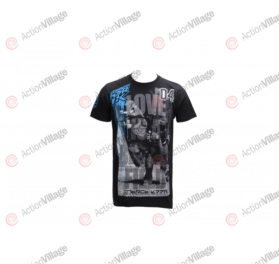 Contract Killer Battlefield T-Shirt - Black