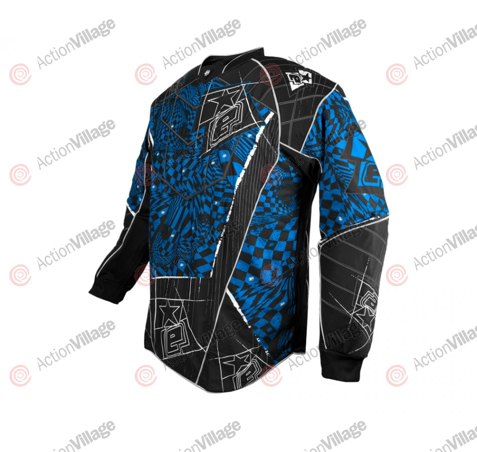 Planet Eclipse Distortion Elusion Paintball Jersey - Ice
