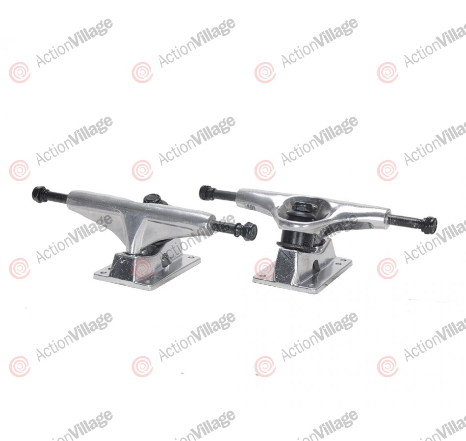 Action Village Toro Skateboard Trucks Silver Set of Two
