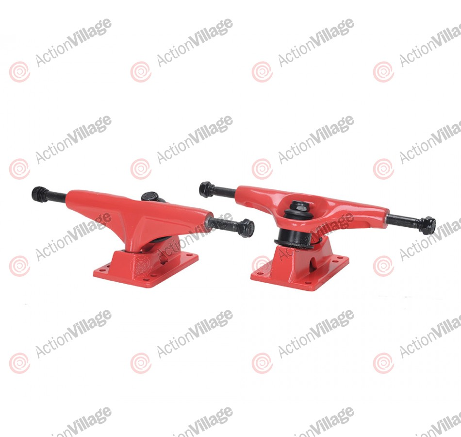 Action Village Toro Skateboard Trucks Red Set of Two