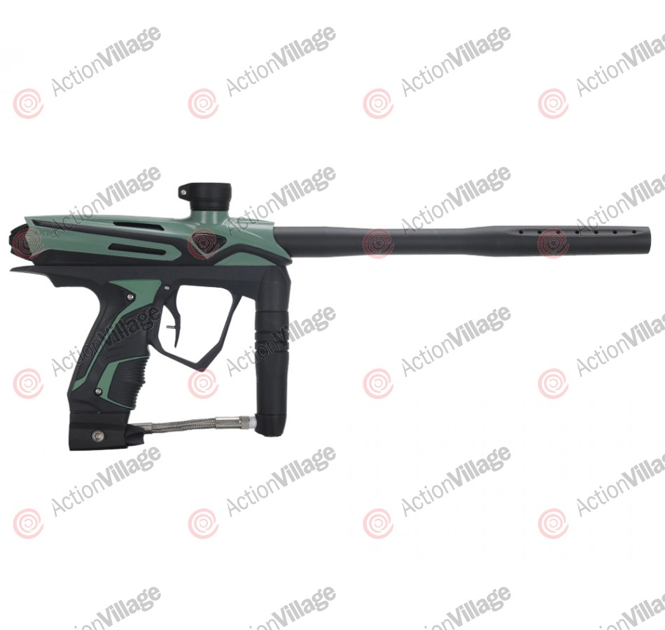 GoG eXTCy Paintball Gun w/ Blackheart Board - Tactical Green