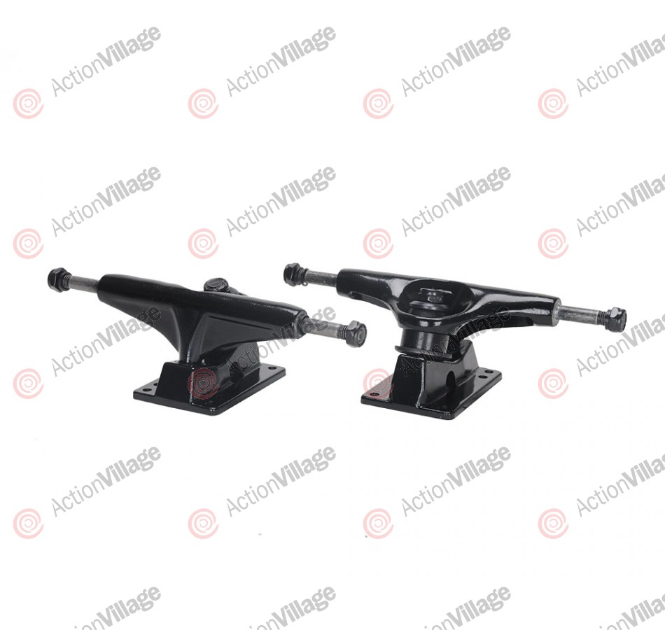 Action Village Toro Skateboard Trucks Black Set of Two