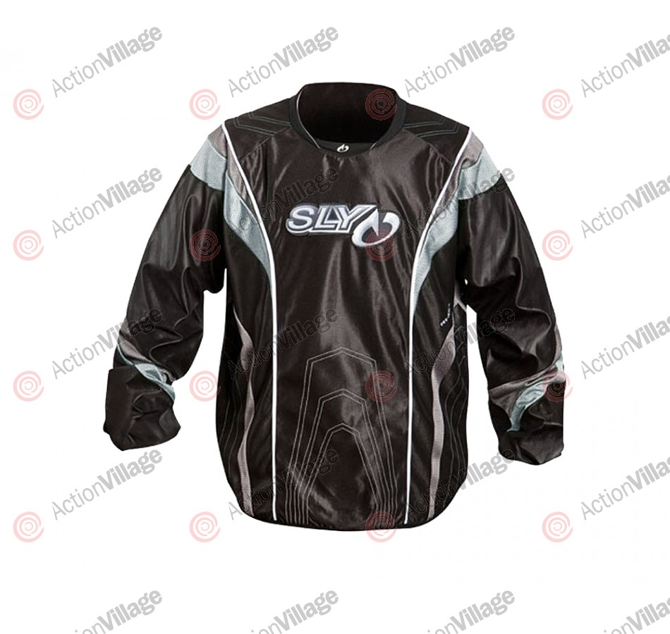 2012 Sly Pro-Merc S12 Paintball Jersey - Silver