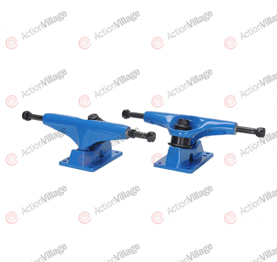 Action Village Toro Skateboard Trucks Blue Set of Two