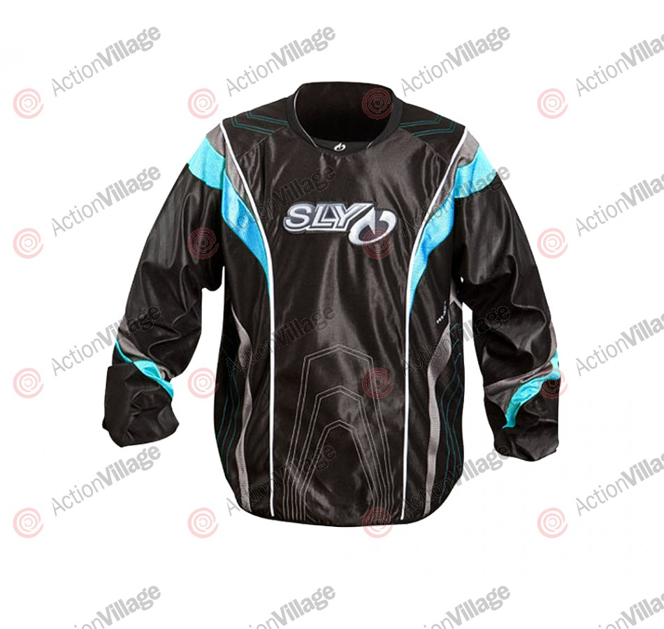 2012 Sly Pro-Merc S12 Paintball Jersey - Blue