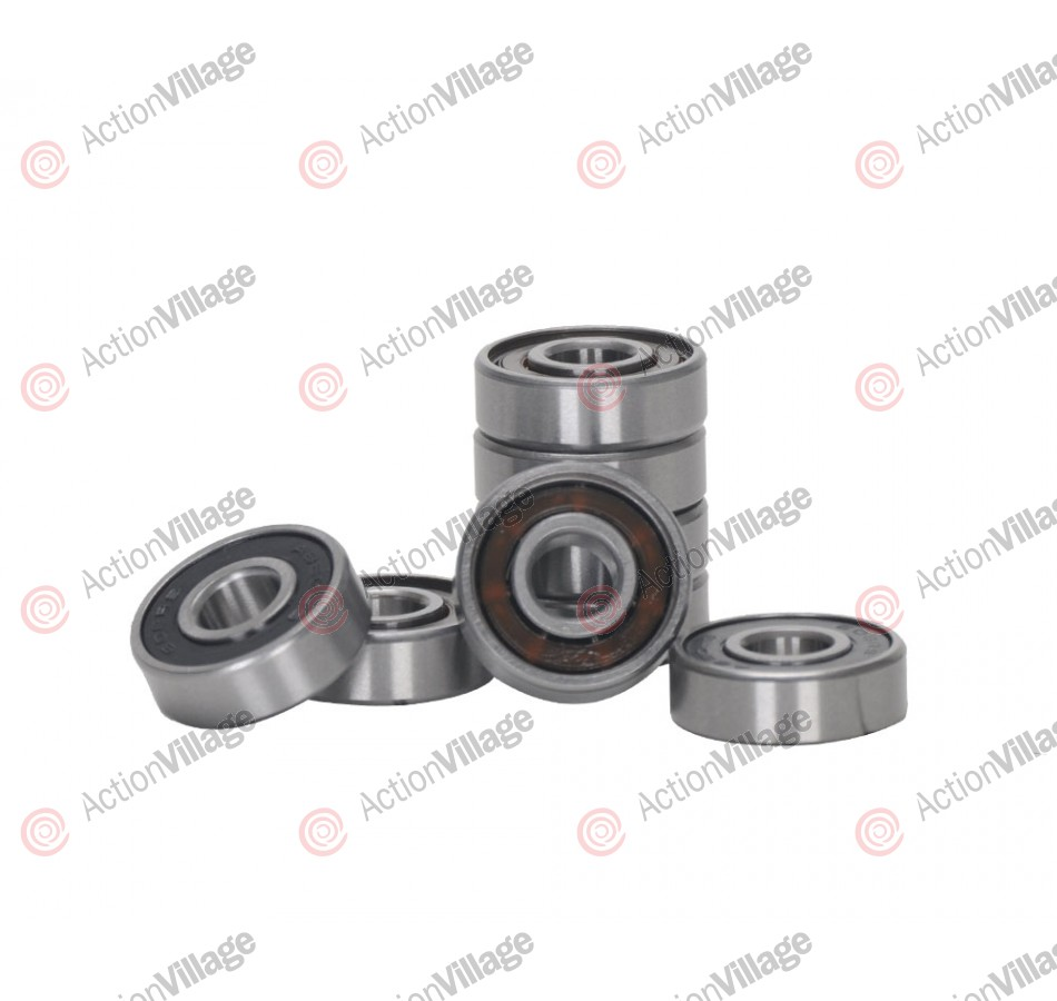 Action Village R12 ABEC 9 8 Pack Skateboard Bearings