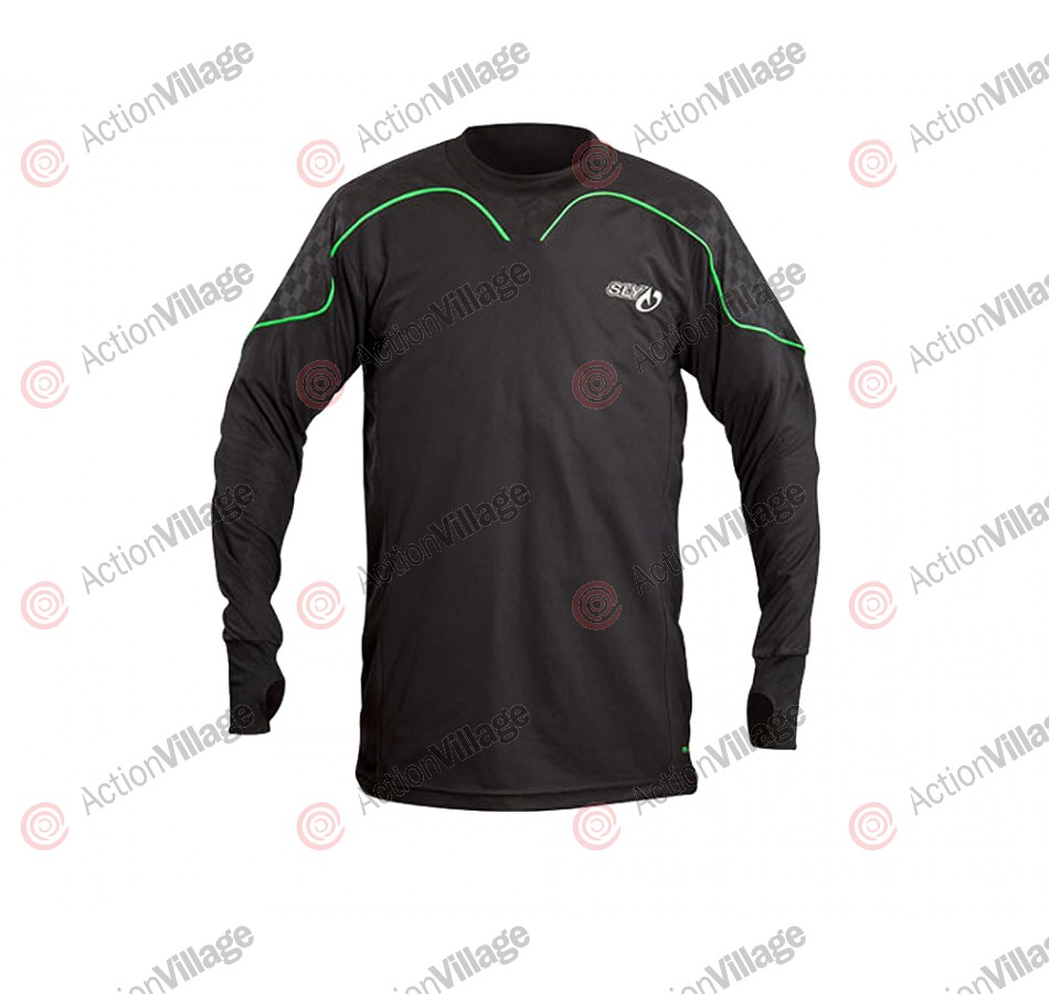 2012 Sly Pro-Merc S12 Paintball Training Jersey - Black