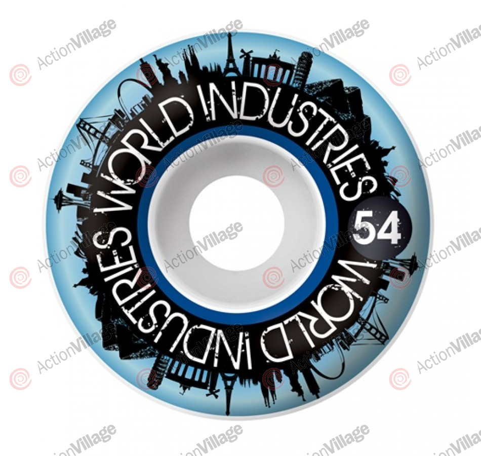 World Industries City 54mm, Set of 4 - Skateboard Wheels
