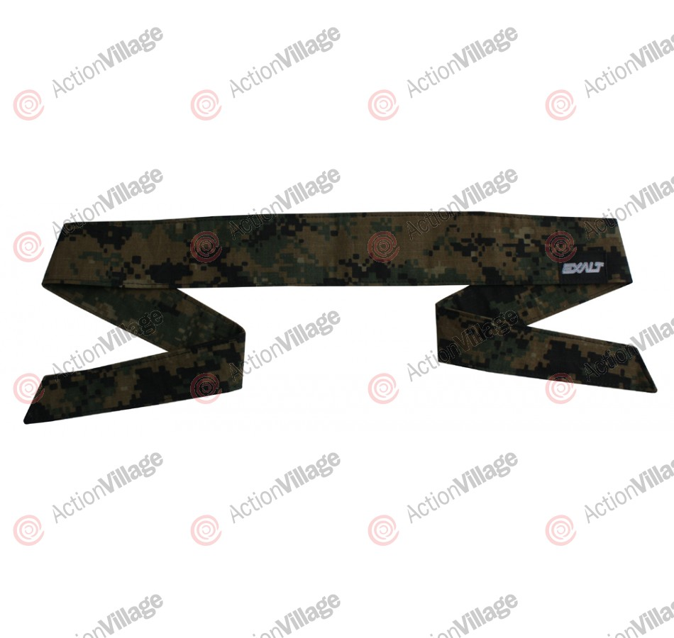 Exalt Camouflage Headband - Woodland Digital