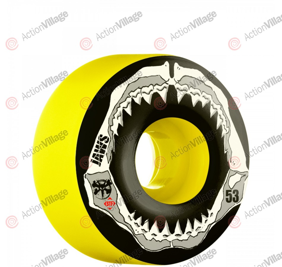 Bones STF Pro Homoki Grill - 53mm - Yellow - Skateboard Wheels