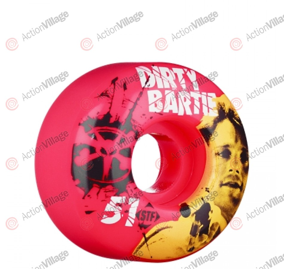 Bones Chad Bartie Colt 45 - 51mm - 83B - Pink - Skateboard Wheels