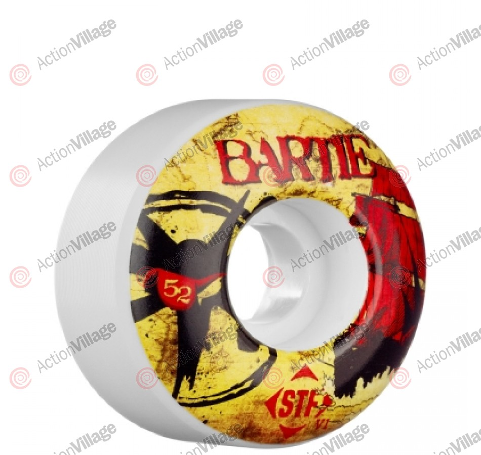 Bones Chad Bartie Pirate STF - 52mm - 83B - Skateboard Wheels