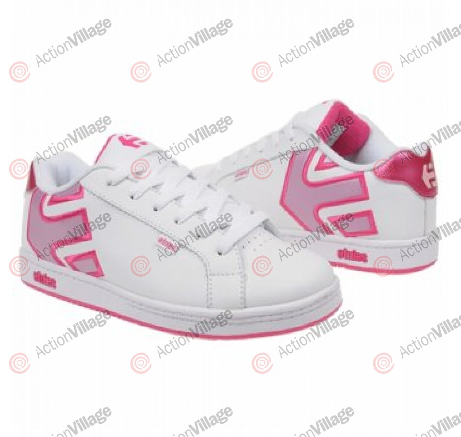 Etnies Toddler Fader - Kids Shoes White/Pink/Pink