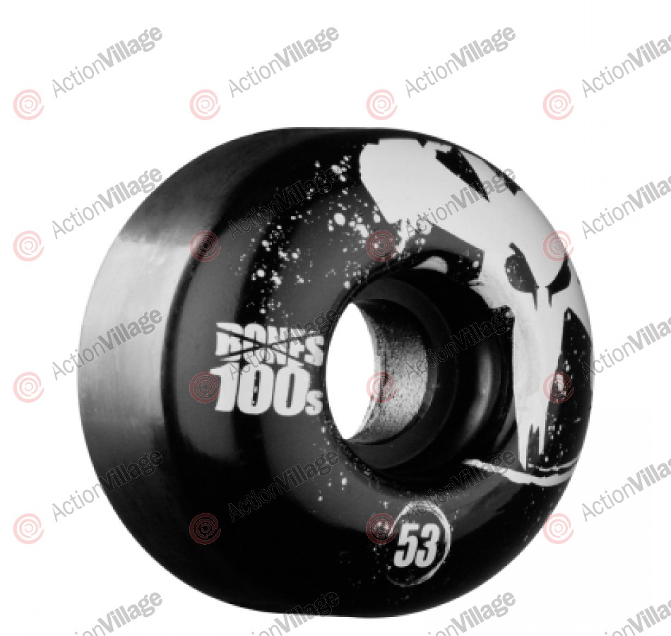 Bones O.G. Formula 100 - 53mm - Black - Skateboard Wheels