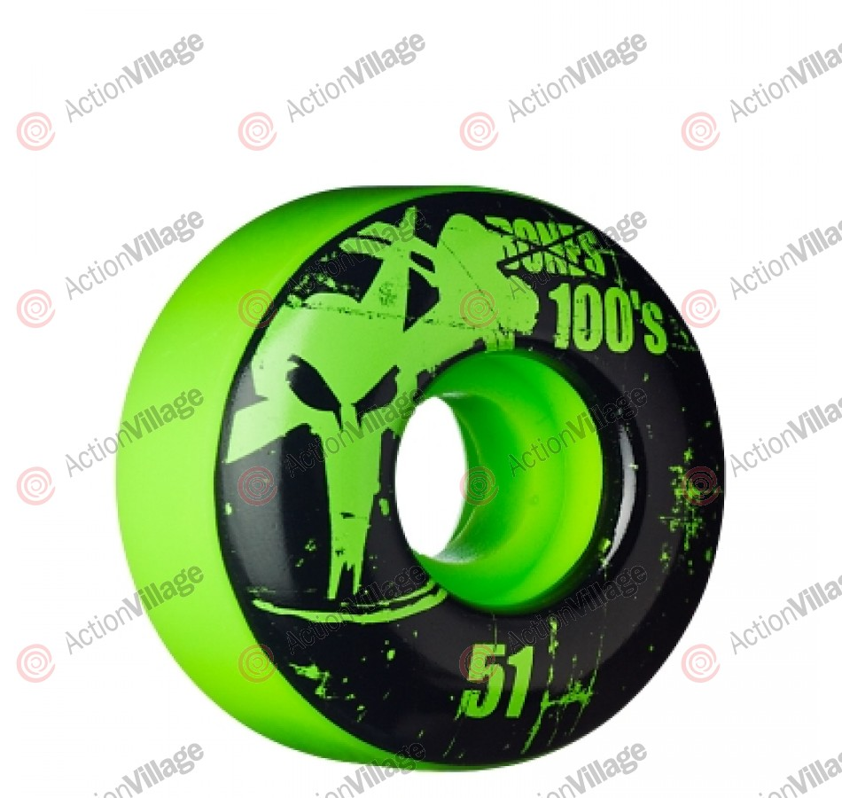 Bones O.G. Formula 100 - 51mm - Green - Skateboard Wheels