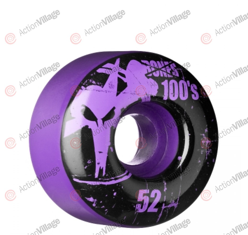 Bones O.G. Formula 100 - 52mm - Purple - Skateboard Wheels